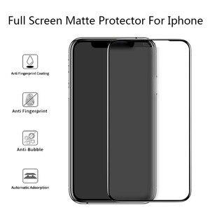 5 шт., полностью матовое стекло для защиты экрана 11Pro Max, закаленное стекло Gor i7 i8 i6s Plus X XS Max XR