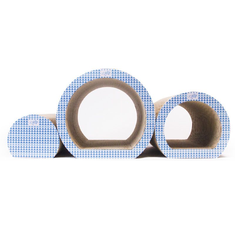 Cat Products Cat Tunnel Cat Claw Board Nest Combination Corrugated Paper Cat Toy Kitten Claw Sofa Scratch Resistance And Wear