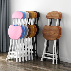 Simplicity Nordic Portable Stool Collapsible Dining Room Chairs Modern Chairs For Kitchen Modern Dinning Chair Kitchen Stool