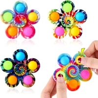 antistress push bubbles fidget toys for adults children kids relieve stress gift finger spinner toy hand spinner gift christmas