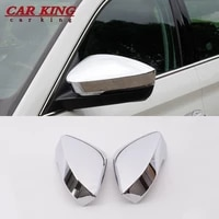 for skoda kodiaq 2017 2018 2019 2020 rearview side door mirror cover frame sticker exterior decoration car styling accessories