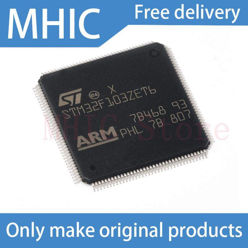 1 قطعة/الوحدة الأصلي أصيلة STM32F103ZET6 LQFP-144 الذراع Cortex-M3 32 بت متحكم MCU