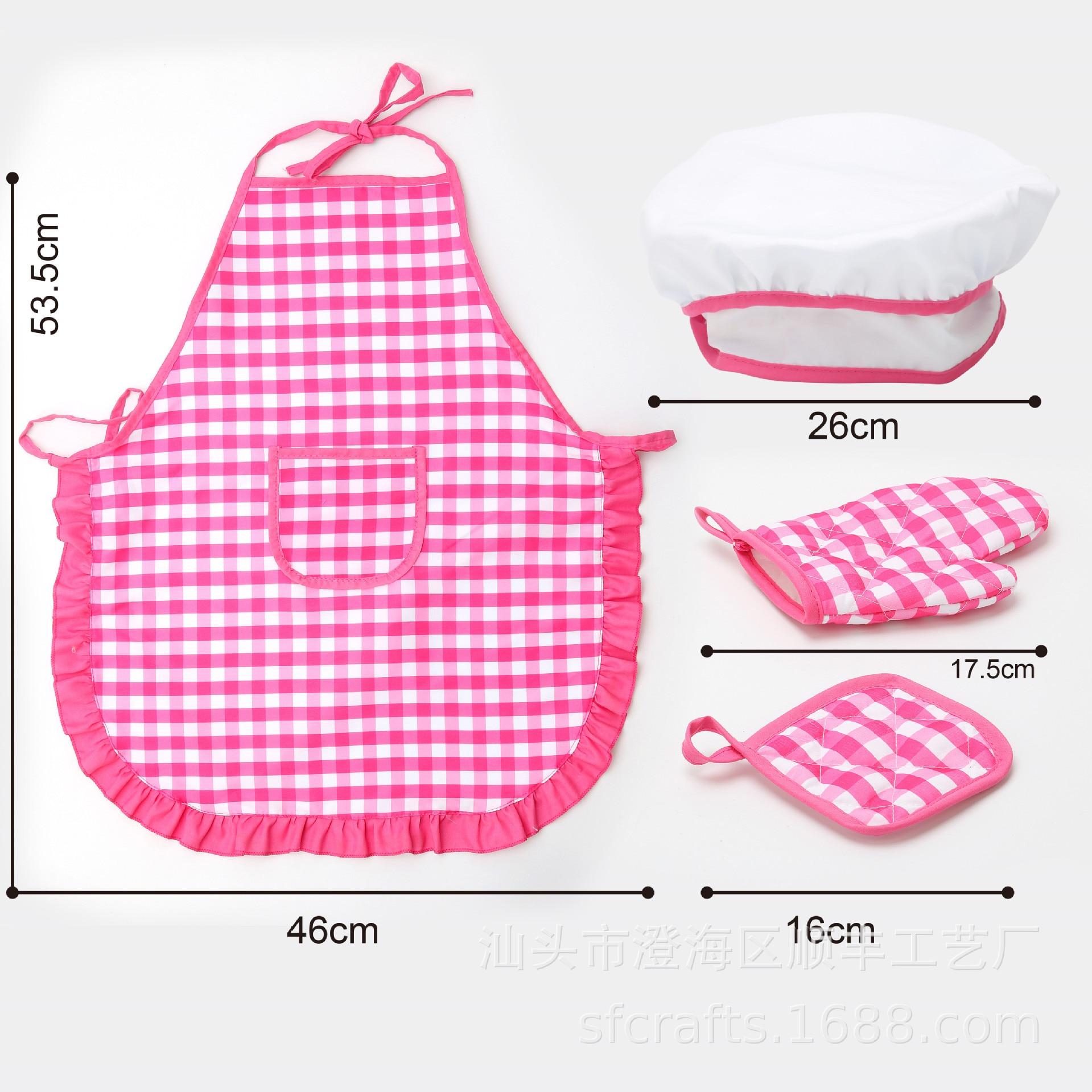 Jogo casa cozinha brinquedo utensílios de cozinha conjunto de ferramentas de cozimento bolo avental diy