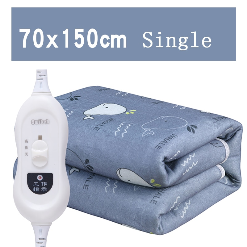 Sheet Electric Heating Pad Bed Blanket Heated Blanket Electric Mattress простынь с подогревом Electric Blankets for Beds FL01DRT enlarge