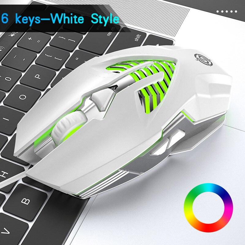 Wired Mouse RGB Gamer Mouse USB Mouse Myszka Gamingowa Myszka do Komputera Viper Q1 3200 DPI Mouse Desktop мышка для компьютера enlarge