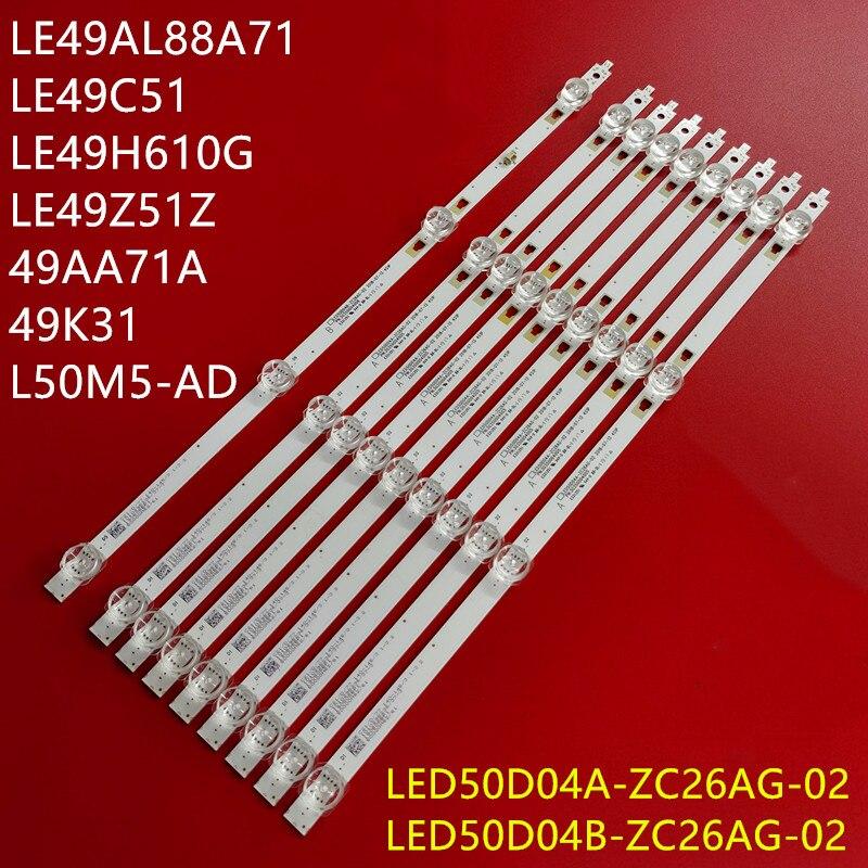 LED Backllight قطاع 4 مصباح ل NS-50D510NA19 100012585-m lt-50maw595 lt-49maw598 100007147 100012585