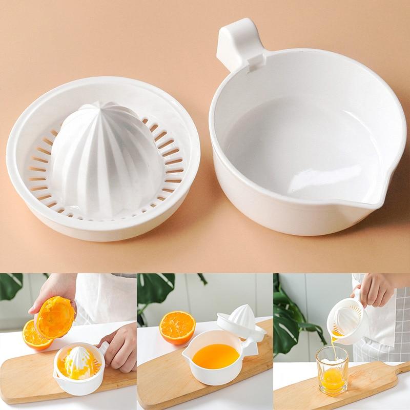 Ручная портативная соковыжималка для цитрусовых, пластиковая соковыжималка для апельсинов, кухонные принадлежности, фрукты, кухонные инст...