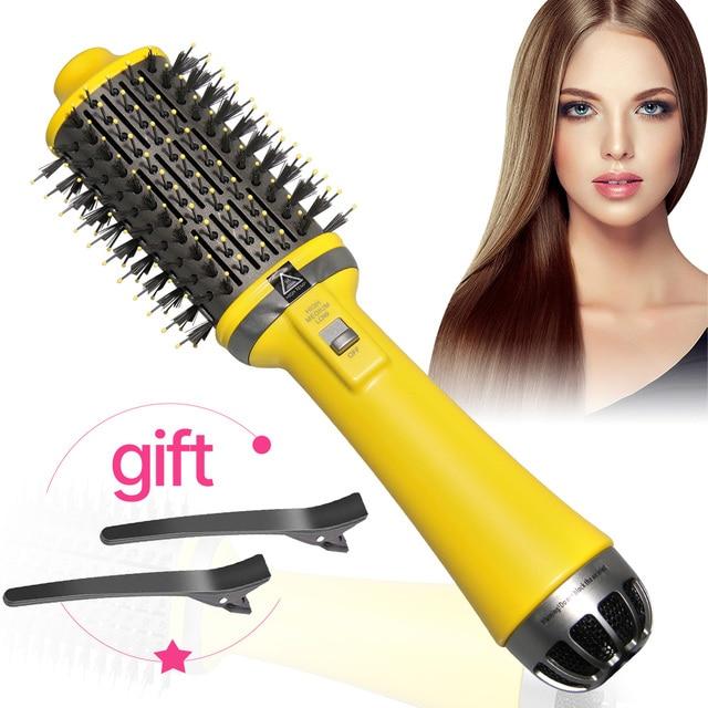 Прямая поставка, одношаговый фен, щетка с горячим воздухом, щетка для выпрямления волос, щетка для завивки, инструменты для укладки волос в салоне, фен, щетка|Бытовая техника|| | АлиЭкспресс