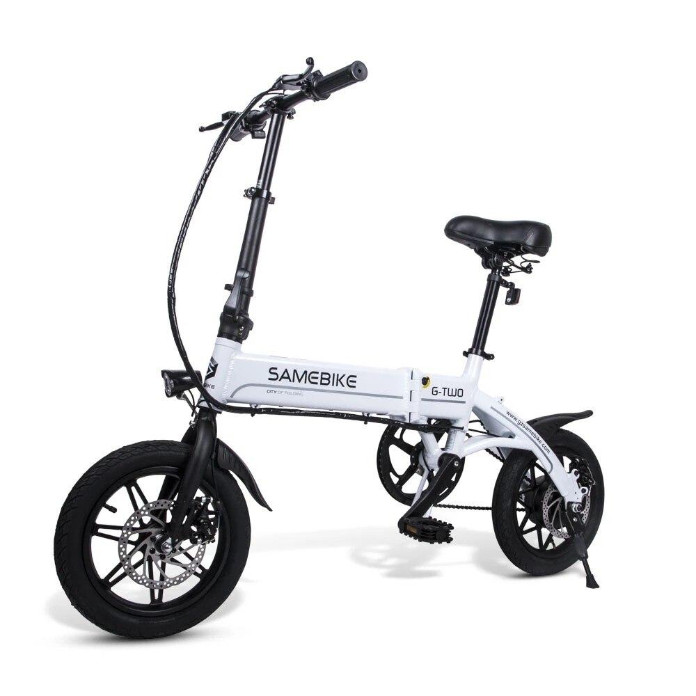 Samebike YINYU14 بوصة ebike 36 فولت 250 واط عالية السرعة دراجة كهربائية قابلة للطي سبائك الألومنيوم دراجة كهربائية