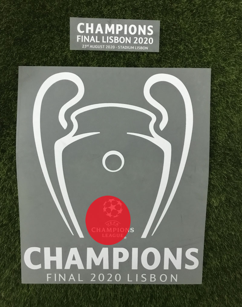Champions Final Lisbon 2020 Patch Champions Soccer Badge