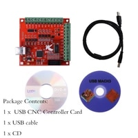 mach3 100khz 4 axis usb interface driver wiring board cnc 4 axis controller motion controller driver board
