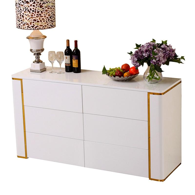 خزانة الشاي خزانة متعددة الوظائف رسمت خزانة مشروبات غرفة الطعام خزانة خزانة غرفة المعيشة التخصيص