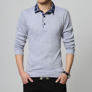 Design New 2021 Men Brand Polo Shirt Long Sleeves Casual Spring Autumn MaleTops Tees Para Hombre Clothing Plus Asian Size M-5XL