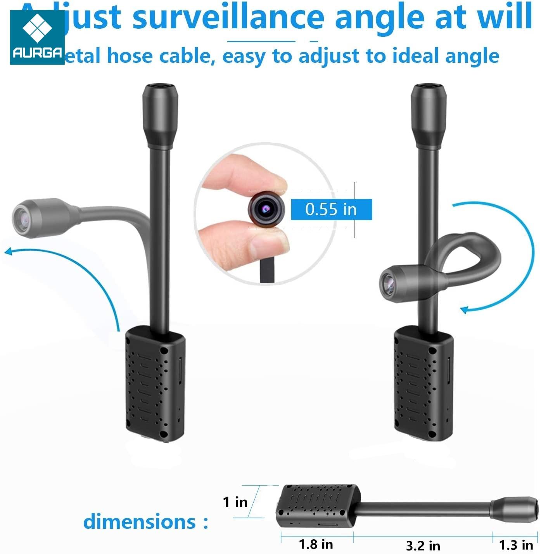 2000mah Wireless Wifi Mini Camera PIR Human Body Induction Wakeup Video Surveillance App Remote Monitoring Flexible 1080P Cam enlarge