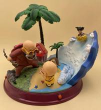Anime Dragon Ball Z Master Roshi & Little Son Goku Summer Holiday Figure Model Toys