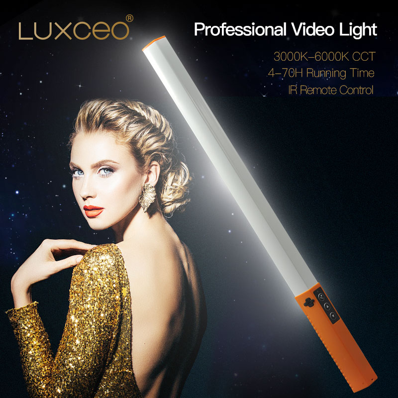Camera Video Light Portable Handheld LED Video  Ice Light USB Rechargeable Photography Lamp Stick Dimmable with Remote Control enlarge