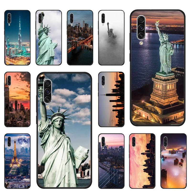 La ciudad de Nueva York, cajas del teléfono para Samsung galaxy Nota...