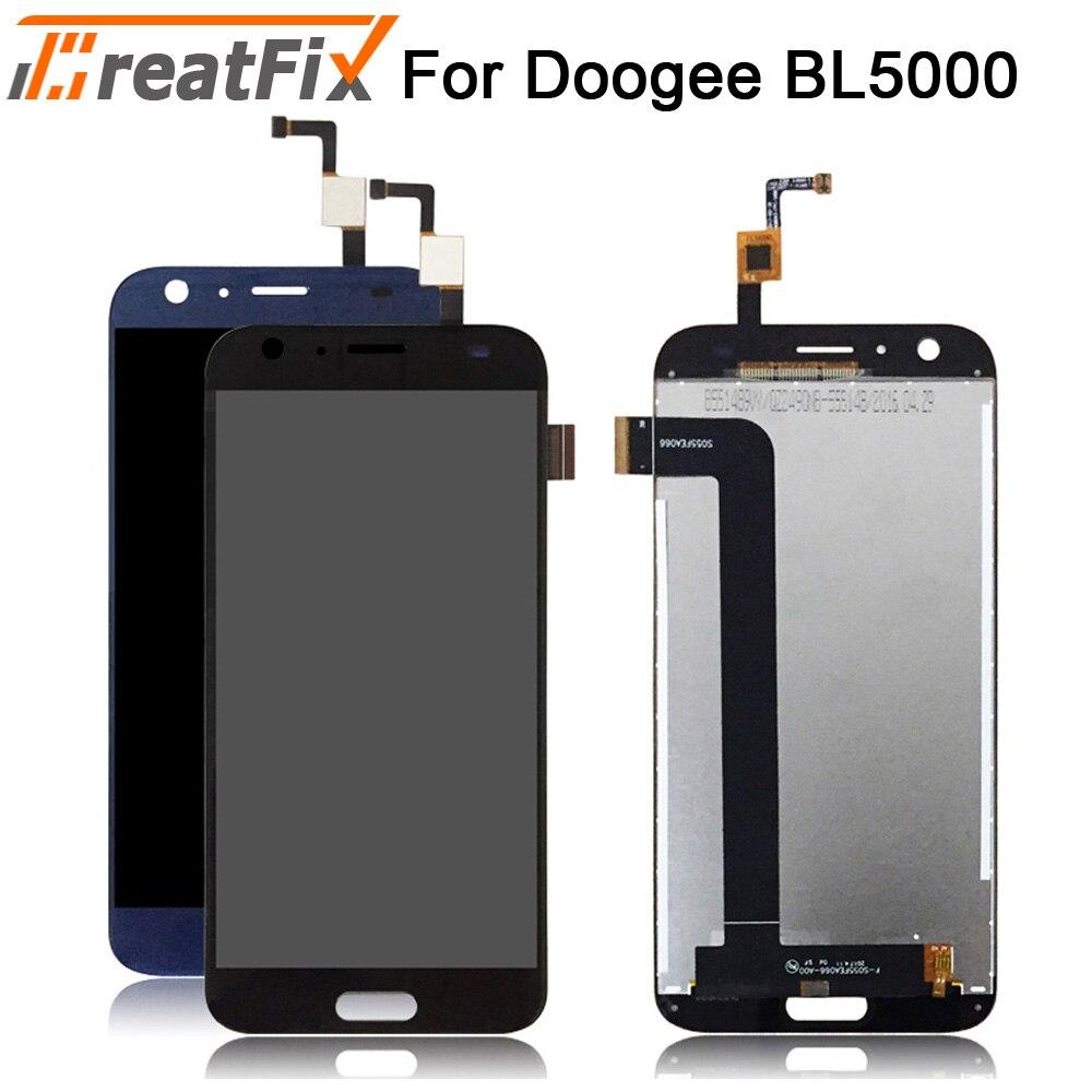 Para Doogee BL5000 pantalla LCD y digitalizador de pantalla táctil reemplazo de montaje para doogee bl5000 100% pantalla LCD probada