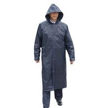 Lange Regenmantel Männer Schwarz Poncho Outdoor Wasserdicht Regen Mantel Männer Mit Kapuze Overalls Männlichen Jacke Casaco Regenmäntel Windjacke 60YY021