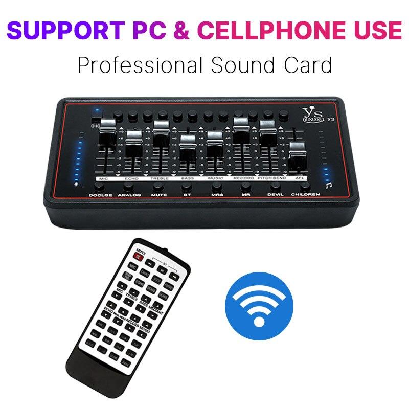 オーディオインターフェイスサウンドカードプロ · スタジオオーディオマイク外部サウンドカード制御放送ギター pc