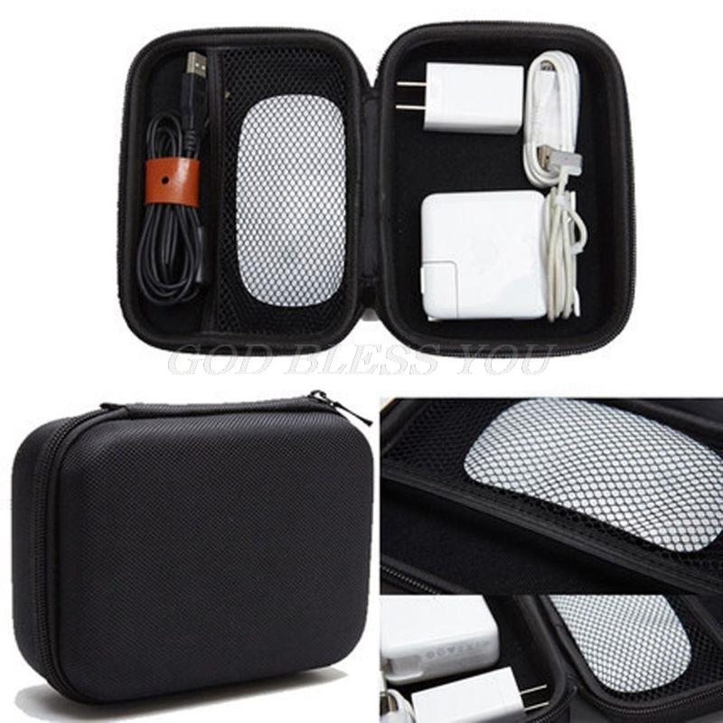 Funda dura EVA para lápiz Apple Magic Mouse, Magsafe, adaptador de corriente, funda de transporte, triangulación de envíos