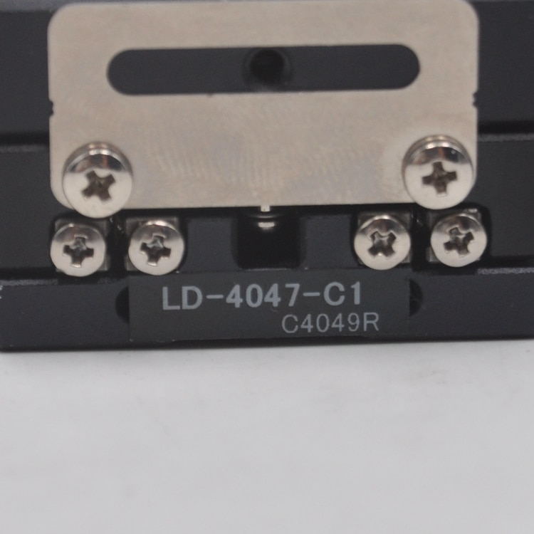 CHUO LD-4047-C1 manual XY axis two-dimensional linear cross rail optical fine-tuning slide aluminum enlarge