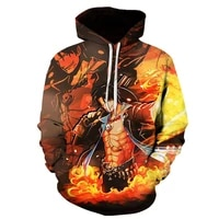 2021 fall mens womens childrens hoodie 3d printing cartoon one piece luffy sweatshirt pullover casual hip hop casual coat