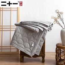 La cubierta del aire acondicionado del hilo de algodón puede lavarse a máquina fresco en el edredón del verano de la piel de algodón puro