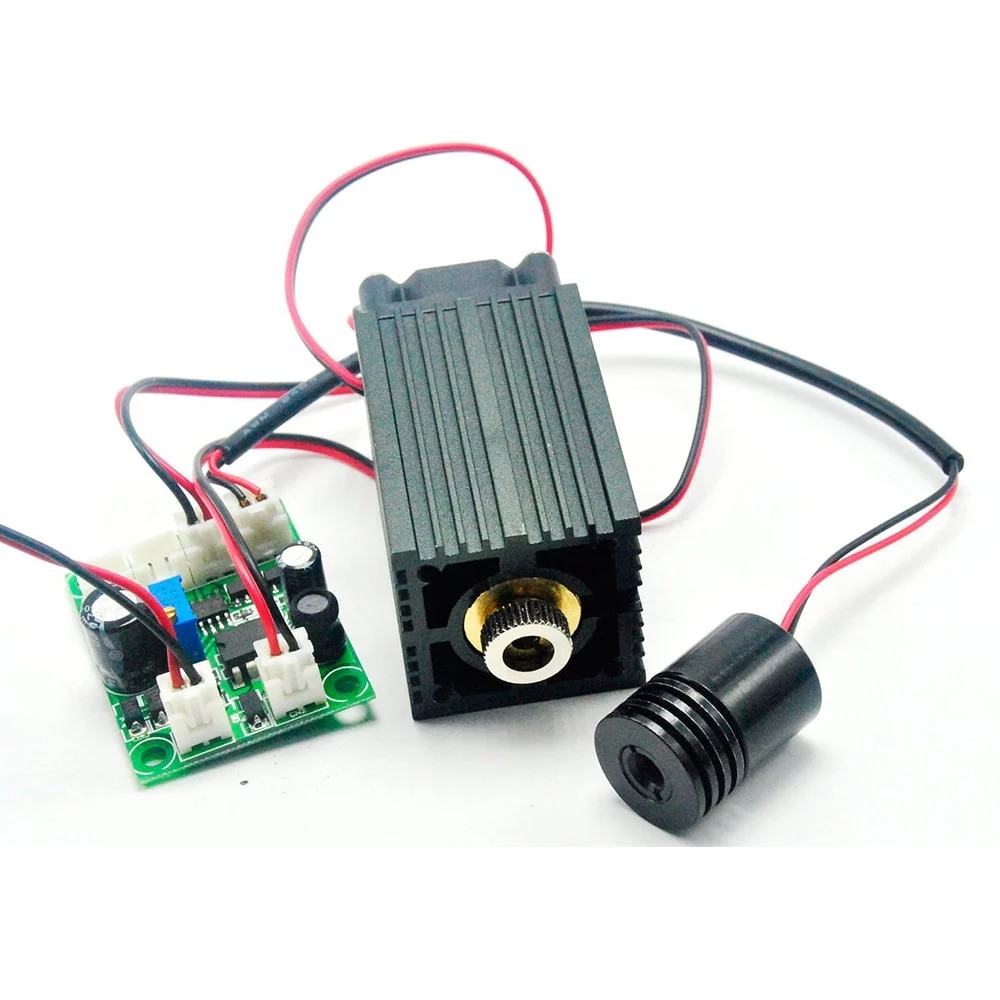 Промышленный 650 нм 660 нм 200 мВт +% 26 532 нм 50 мВт красный зеленый лазер диод модуль 12 В