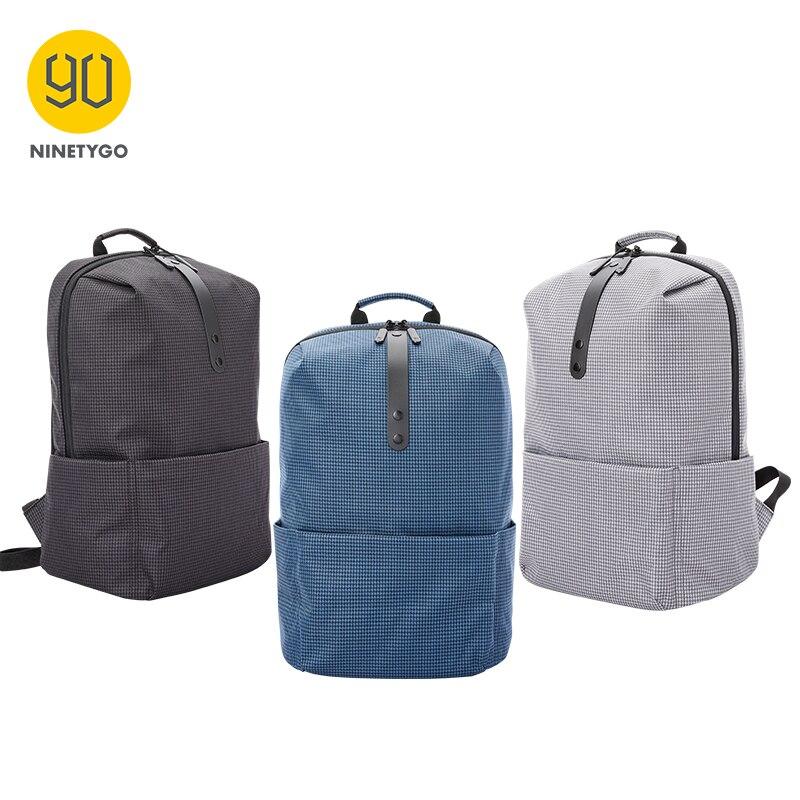 Mochila informal NINETYGO 90FUN de universidad para niños y hombres, mochila de viaje con bolsillo abierto para ordenador portátil, mochila para mujeres y niñas