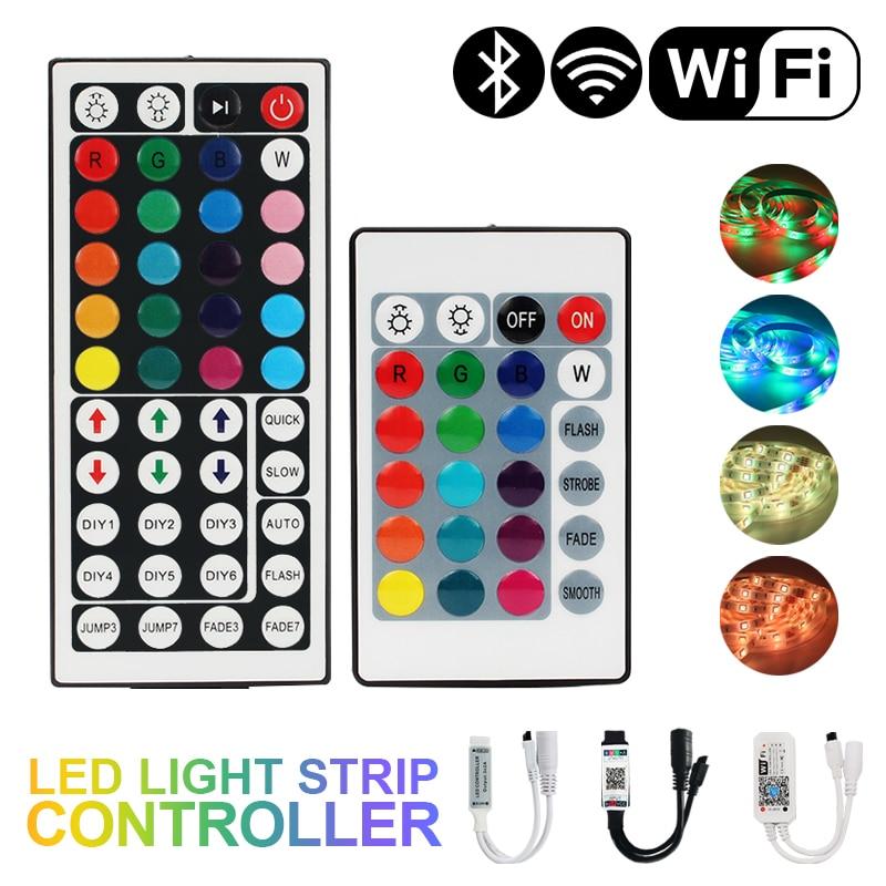 Пульт дистанционного управления диммером для светодиодной ленты SMD 2835 5050, 24 клавиши, 44 клавиши