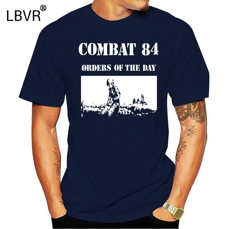 ¡Combate 84 pedidos del día, camiseta skinhead oi! Talla de música S, M, L, XL, 2X, 3X, 4X, 5X
