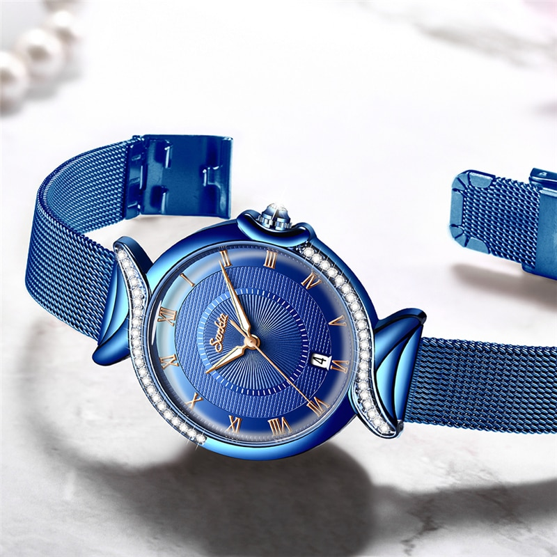 SUNKTA NEW Top Brand Luxury Women Watches Simple Quartz Watch Ladies Fashion Waterproof Wrist Watches Gift Girl Relogio Feminino enlarge