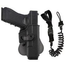Étui tatique pistolet fronde pour Glock 17 19 22 26 31 Airsoft pistolet étui étui avec pistolet fronde chasse accessoires étuis