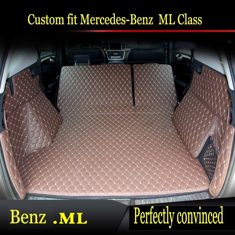 Tapetes de coche ZHAOYANHUA para Mercedes Benz C clase C160 C180 C200 C220 C300 C350 w201estilo de coche todas las alfombras meteorológicas piso del trazador de líneas