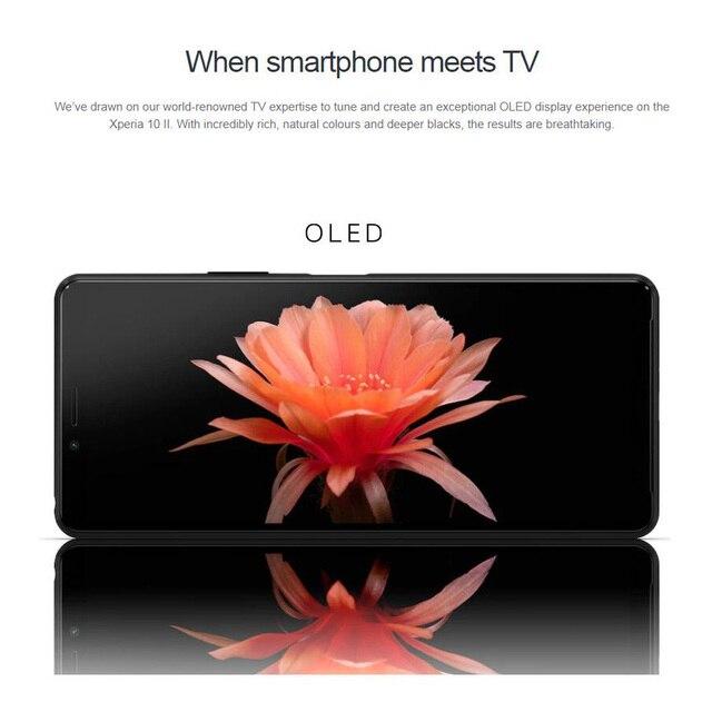 2020 Original Sony Xperia 10 II 4G Mobile Phone 6.0 10