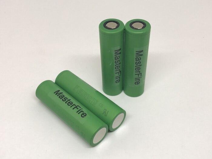 4 unids/lote MasterFire Original 18650 2600mAh US18650VTC5 3,7 V batería de litio recargable de alto drenaje VTC5 para descarga Sony 30A