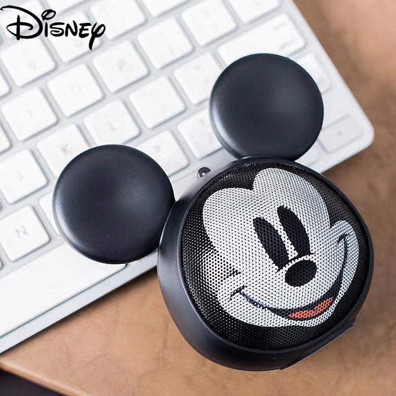 Disney Cartoon Mickey Bluetooth Connection Wireless Speaker Portable Outdoor Music Player Cool and Cute Mobile Phone Accessories enlarge