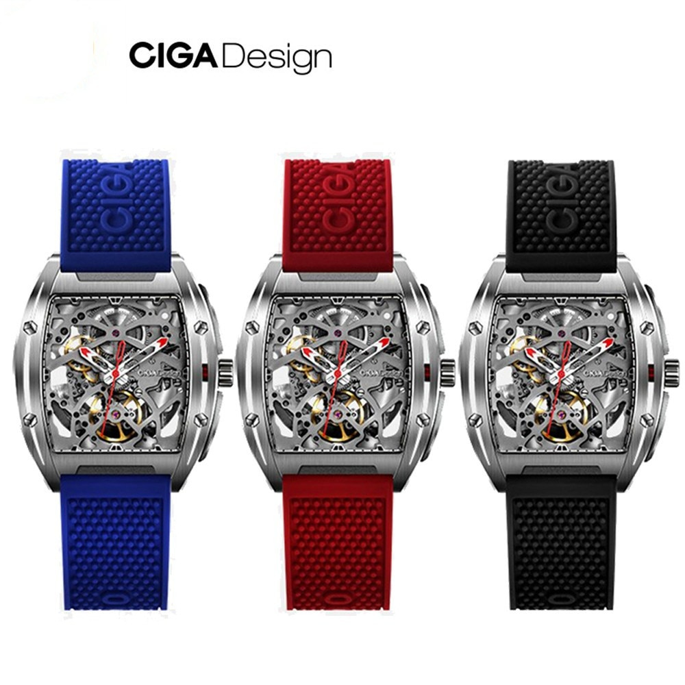 CIGA Design Serie Z, reloj mecánico automático, relojes de pulsera de viento propio, relojes de pulsera para hombres de negocios a prueba de agua