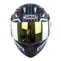 motorcycle helmet with double lens uncovering helmet riding four seasons safety motorcycle helmet with k5 color piece