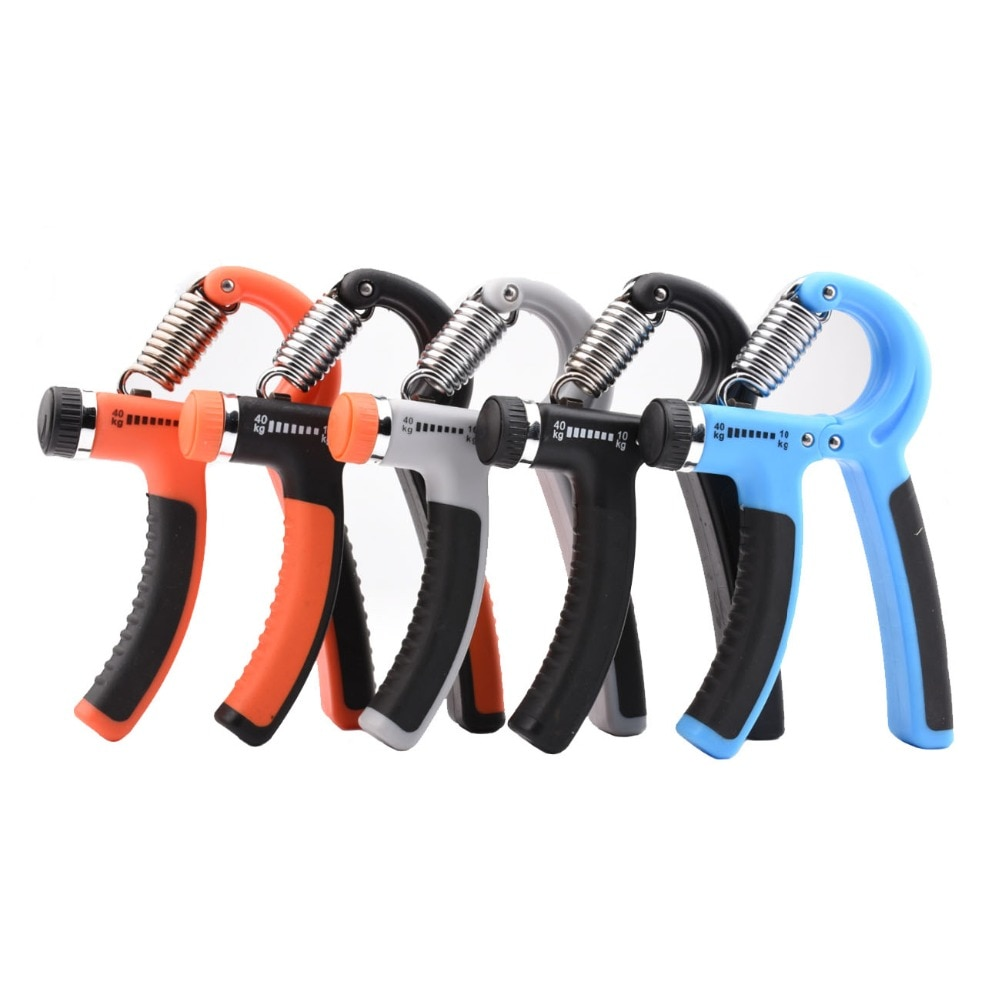 Heavy Hand Grip Strengthener Fitness Gym Tool Finger Exerciser Bodybuilding Arm Muscle Grip Training Rehabilitation Equipment high grade finger grip ball rehabilitation training equipment middle aged and young people partial stroke exercise finger grip