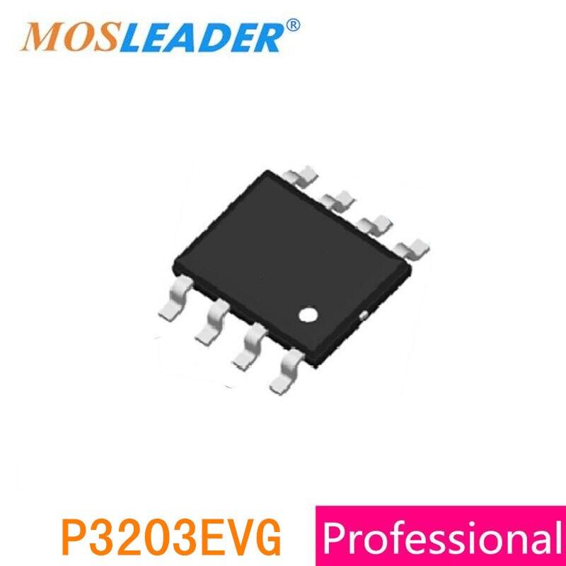 Mosleader P3203EVG SOP8 100 قطعة P-قناة P3203E 3203E -30 فولت صنع في الصين جودة عالية