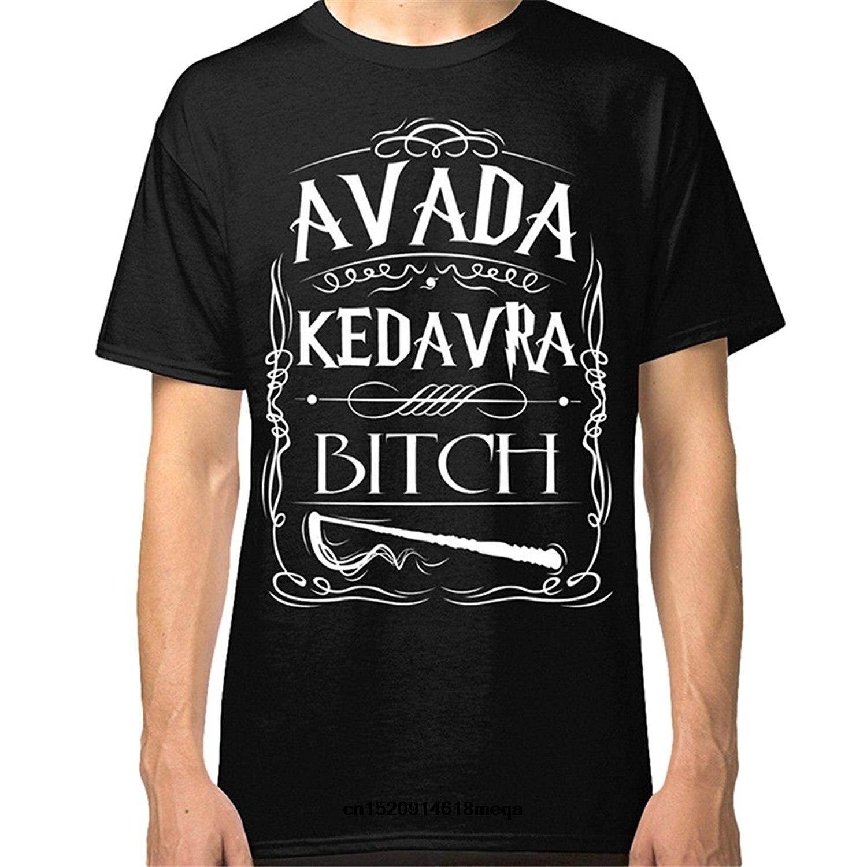 Camiseta barata para hombre, camiseta a la moda LANSHITINA, camiseta para hombre Avada kevavra, camiseta Bitch, camiseta divertida