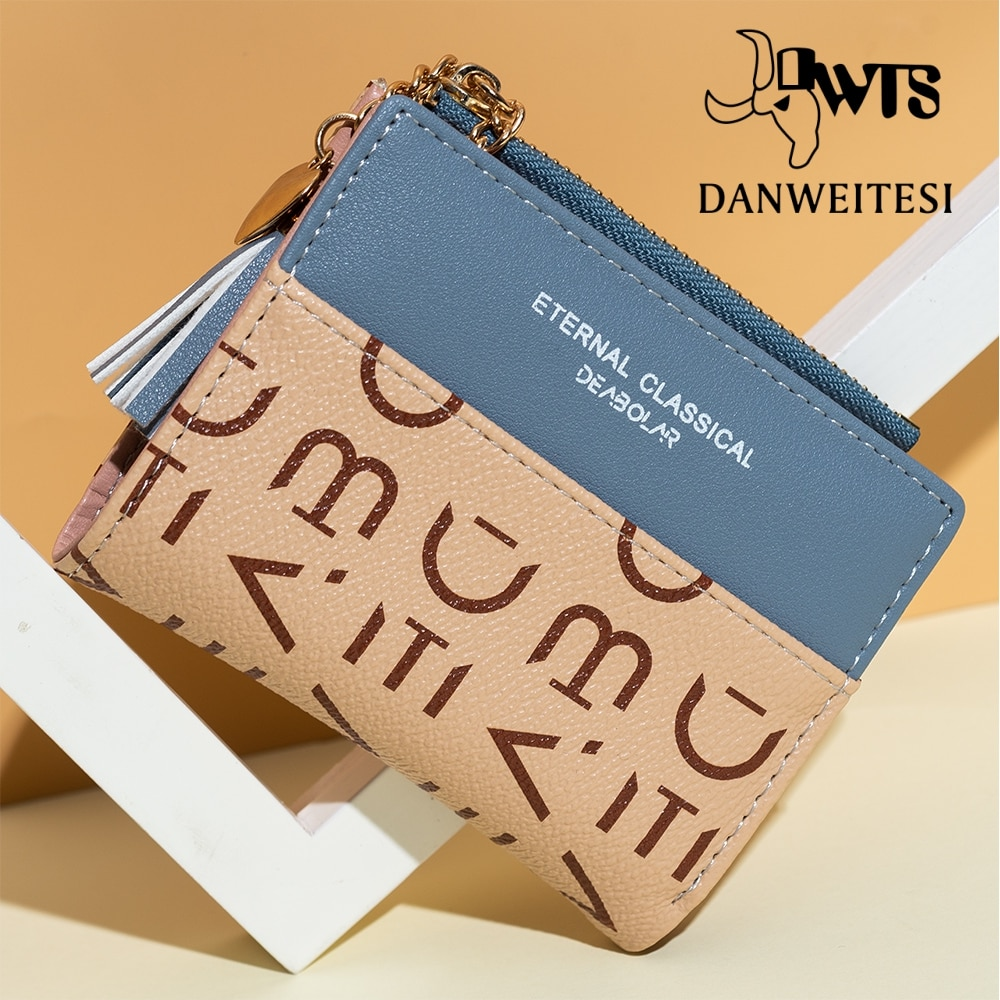 New women wallet Credit Bank card holder large capacity travel clutch bag PU Purse Ladies wallet fas