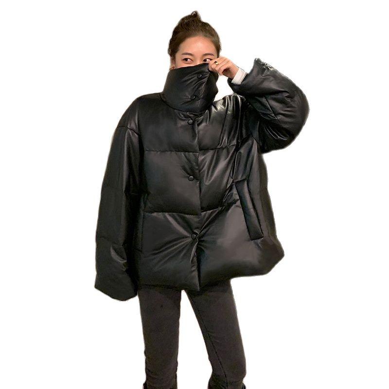 women sheepskin leather down jacket 2020women bread collar coat genuine leather coat real leather down coat women leather jacket
