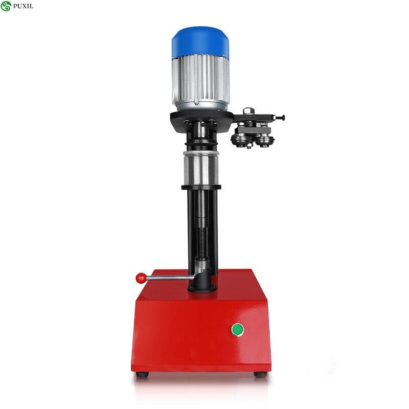 12 20 20 pces/min modelo manual pode máquina de selagem circular enlatada máquina tampando da lata da cerveja do alimento