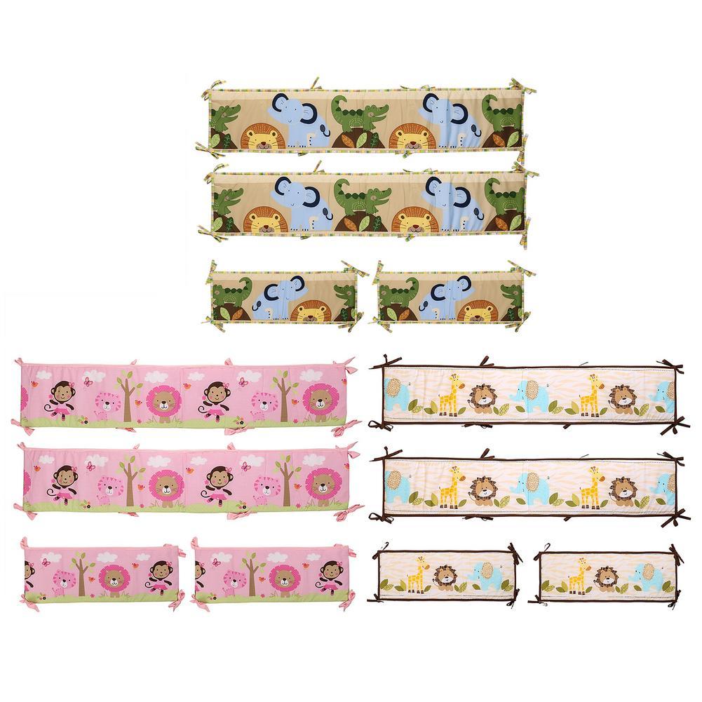 4 шт., Детские бамперы для кроватки