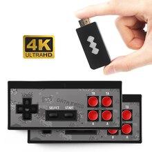 USB беспроводная портативная тв видео игровая консоль со встроенными 620 классическими играми 4K 8 бит мини консоль с поддержкой HDMI совместимая AV
