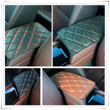 Car Armrest Mat Storage Box Arm rest Pad Cushion Pad for Nissan Altima 370Z Xmotion X-Trail Qashqai NISS LIVINA MARCH X-TRAIL