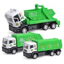 152 Simulation métal Diecasts série dassainissement véhicules modèle voiture jouet retirer camion à ordures cadeau danniversaire pour les enfants Y063